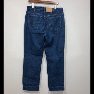 Vintage Levi's 619 Orange Tab Jeans 36X30